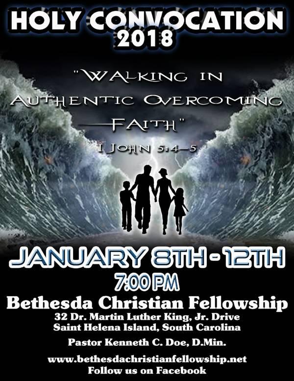 Holy Convocation 2018 at Bethesda Christian Fellowship