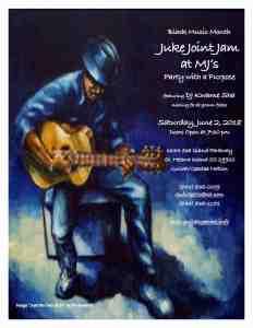 Juke Joint Jam at MJ's Soul Food June 2018