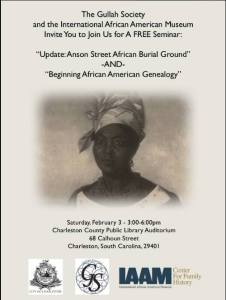 Anson Street African Burial Ground Event