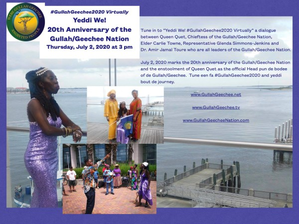 Yeddi We 20th Anniversary of Queen Quet @GullahGeechee