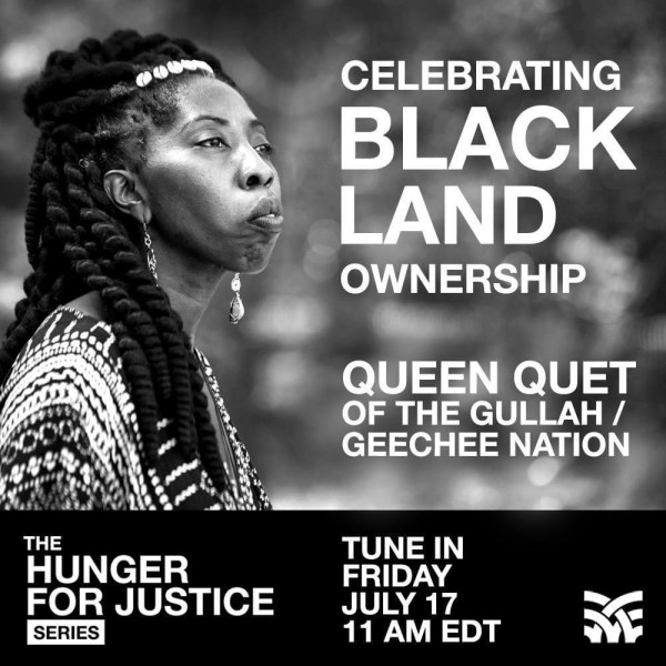 Celebrating Black Land Ownership with Queen Quet @GullahGeechee