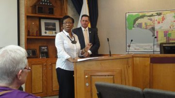 Gullah/Geechee Nation Representative Glenda Simmons-Jenkins thanks the Town of Fernandina Beach, FL for celebrating our culture.