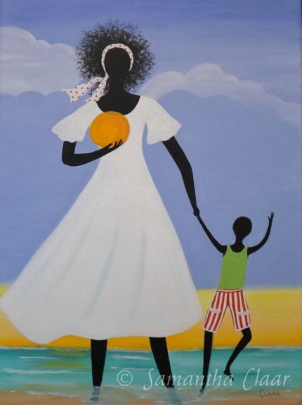 The Son in my Life - 30 x 40  Original Acrylic on canvas