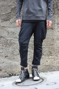 「DEVOA 2016 Back Zip Combat Shoes Calf Leather」の画像検索結果