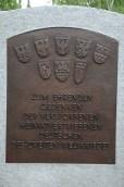 Minnesmärke över de tyskar som fördrevs från Polen, Tjeckoslovakien och Rumänien 1945, Friedhof Freiberg, Nikkor.