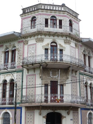Casa Malecón Palace, uppfört 1908-1912.