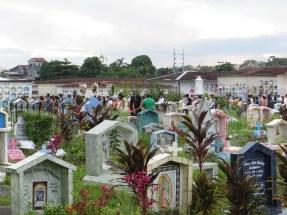 Begravningståg.