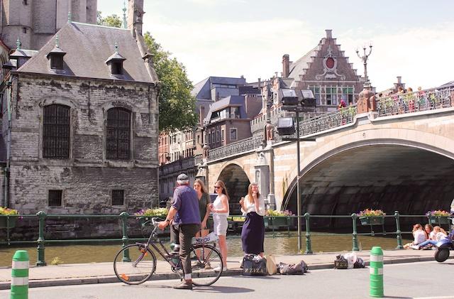 Gent er en av Europas vakreste middelalderbyer!