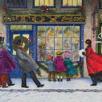 Dickens street por Lynn Bywaters