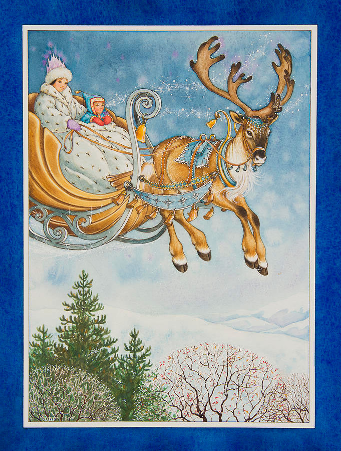 Kay and the snow queen por Lynn Bywaters