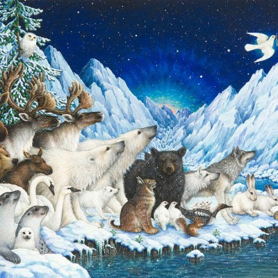 Message of peace por Lynn Bywaters