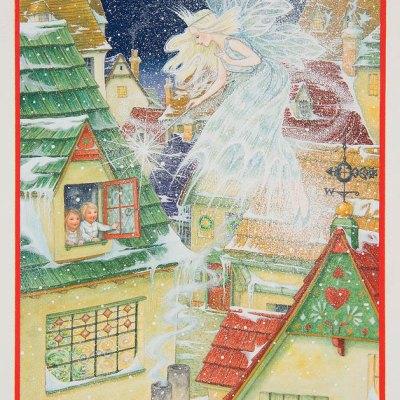Snow fairy por Lynn Bywaters