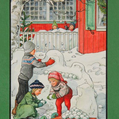 Snowforts por Lynn Bywaters