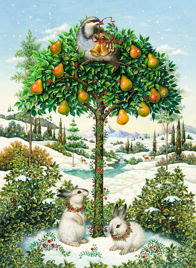 The partridge in a pear tree por Lynn Bywaters