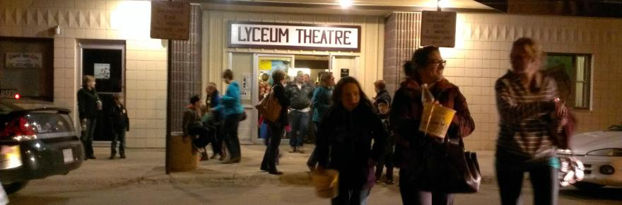 Gull Lake Lyceum Theatre Interior Renovations Complete Business GULL LAKE  Small Business Gull Lake Lyceum Theatre