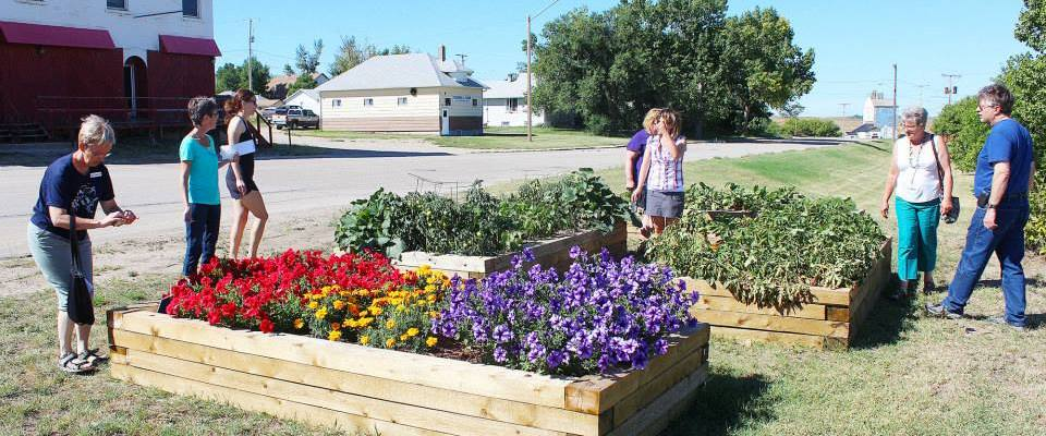 Raised Garden Beds Available at the Xeriscape! GULL LAKE Town Beautification  Community