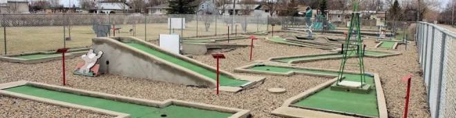 Mini Golf Grand Opening GULL LAKE  Events