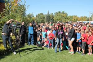 CTV Hometown Tour at the Gull Lake School