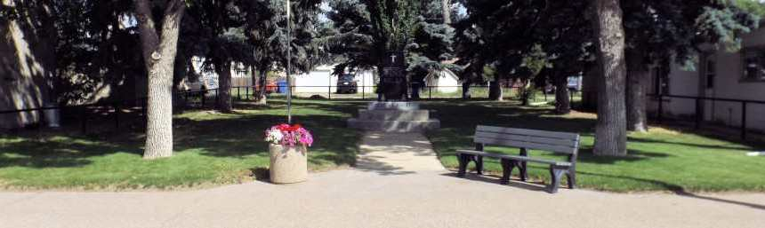 Commemorative Plaque to be Placed at the Cenotaph Government GULL LAKE  Mayor's Report Gull Lake Legion