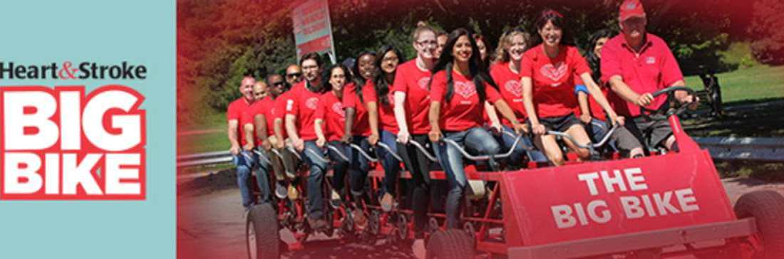 The Heart and Stroke Big Bike is coming back to Gull Lake Thursday, June 29! GULL LAKE Health & Wellness  Events Community