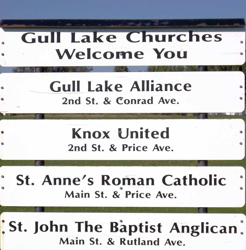 Everyone is Invited to the Ecumenical Church Service at the Little Green Prairie Park GULL LAKE
