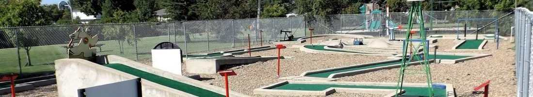 The Kinette Community Corner Mini Golf Opens for the Season GULL LAKE  Kinette Community Miniature Golf Course Community