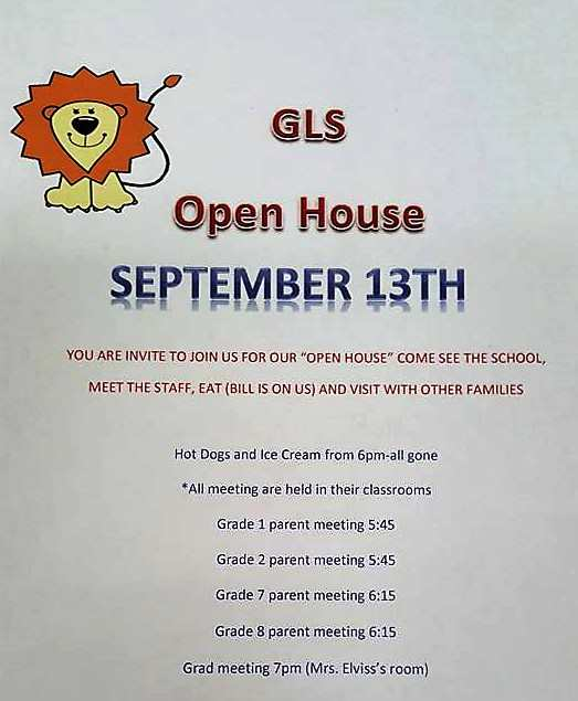 Gull Lake School Open House Education GULL LAKE  Gull Lake School Community