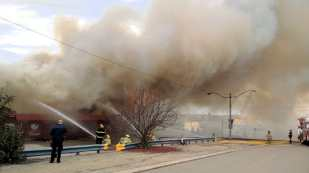 Clarendon Hotel Fire in Gull Lake Business GULL LAKE