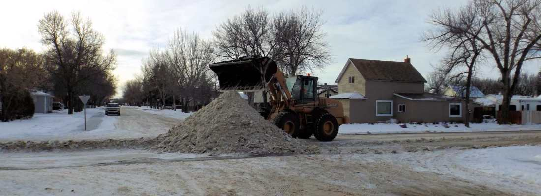 STREET SNOW REMOVAL FOR MONDAY FEBRUARY 13TH, 2017 GULL LAKE  Community
