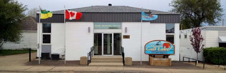 RM of Gull Lake Office Gets a New Roof GULL LAKE Town Beautification  RM of Gull Lake