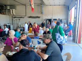 The Gull Lake Emergency Medical Services Appreciation BBQ Was Well Attended GULL LAKE Health & Wellness  Gull Lake Ambulance Service Community