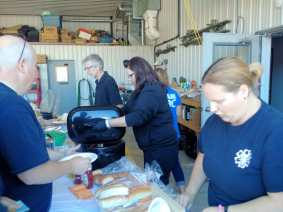 The Gull Lake Emergency Medical Services Appreciation BBQ Was Well Attended GULL LAKE Health & Wellness  Gull Lake Ambulance Service
