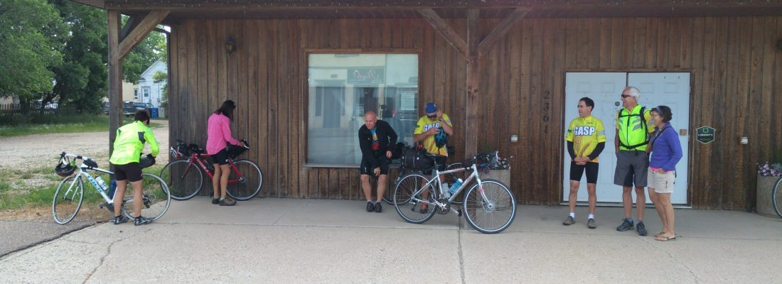 Cyclists Participate in this Year's GASP Event Business GULL LAKE SouthWest Saskatchewan