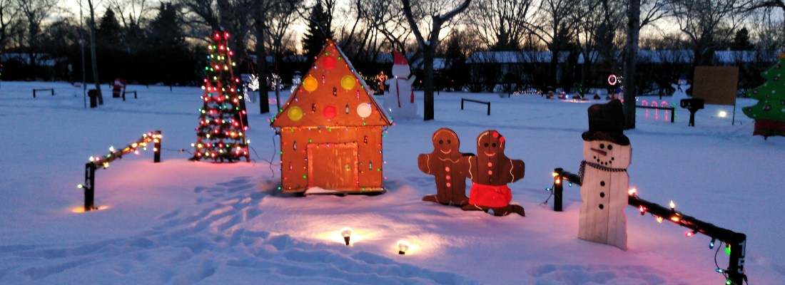 Christmas Cove 2019 Lights Up December 1st GULL LAKE SouthWest Saskatchewan Tourism  Gull Lake Campground Christmas Cove