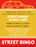 Street Bingo in Gull Lake