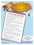 Fire Prevention Week is October 6-12