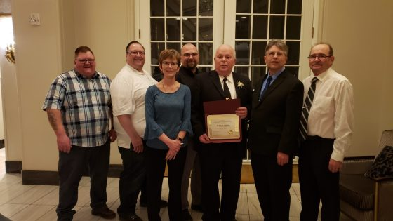 Fire Chief Receives Meritorious Award Government GULL LAKE  Town Council Mayor's Report Gull Lake Fire Department Community