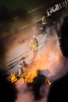 Brandmän med mer att göra än målvakterna
