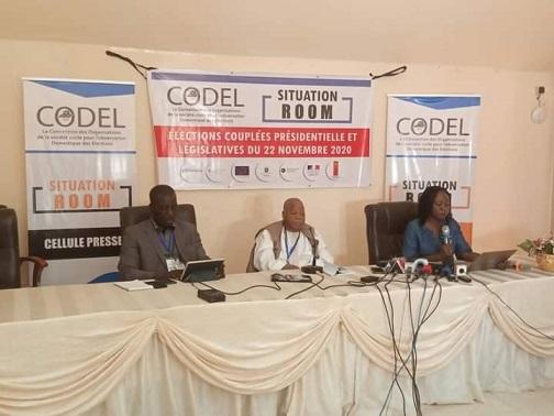 Elections 2020 : «Il faut privilégier les voies de recours légales en cas de contestation des résultats» selon la CODEL
