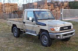 Toyota Landcruiser HZJ79 Cabina Sencilla Pick Up Beige Vehiclestaxfree