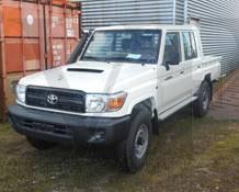 Toyota Landcruiser Pick Up VDJ79 Doble Cabina Vehicles Tax Free