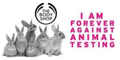the body shop against animal testing campaign ile ilgili görsel sonucu