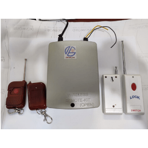 remote kit electronic door lock