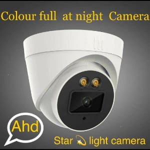 star light night vision camera