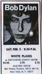 Bob Dylan at Westchester CC, 1966