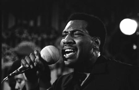 Otis Redding on mic