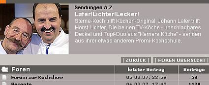 Lafer Lichter Lecker Forum