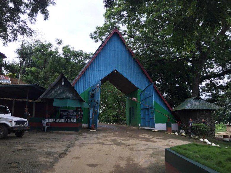 Camp Hebron near Dimapur