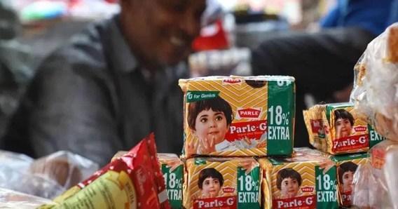 Parle G Biscuit brand