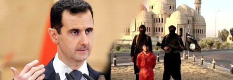 assad vs isis